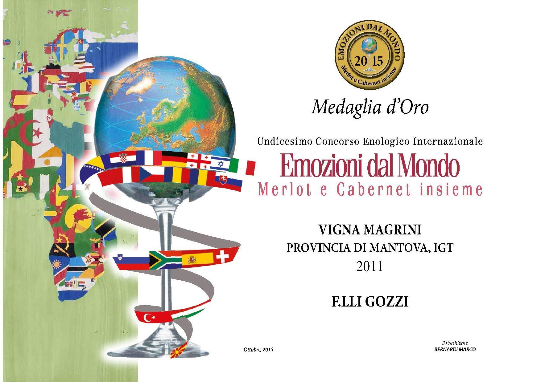 VignaMagrini2011oro