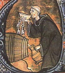 monk-drinking-wine